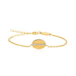 Blomdahl Medical. Gold Brilliance Oval Crystal bf815d040174a